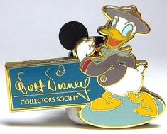 Donald Duck pin (WDCC) from our Pins collection Disney Duck, Walt Disney, Disney Pins, Disney Stuff, Children's Comics, Disney Wishes, 1970s Cartoons, Disney Collector, Happy Campers
