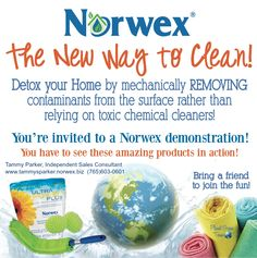 burrfect design norwex party invite  for work, party invitations