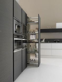 Perfectly-Designed Modern Kitchen Inspirations Photos) www. Perfectly-Designed Modern Kitchen Inspirations Photos) www. Kitchen Room Design, Modern Kitchen Design, Interior Design Kitchen, Modern Design, Creative Design, Smart Design, Interior Modern, Kitchen Decor, Modern Kitchen Cabinets