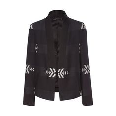 Image 6 of JACKET WITH COMBINATION LAPEL from Zara