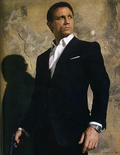 Daniel Craig ダニエル・クレイグ 007 Quantum of Solace 「007 慰めの報酬」2008年 James Bond ジェームス・ボンド役
