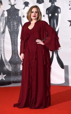 Adele - Brit Awards 2016