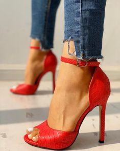 Shop Ethnic Print Peep Toe Ankle Strap Thin Heeled Sandals right now, get great deals at joyshoetique Women's Shoes, Me Too Shoes, Shoe Boots, Dress Shoes, Nike Shoes, 70s Shoes, Boot Heels, Footwear Shoes, Peep Toe Shoes