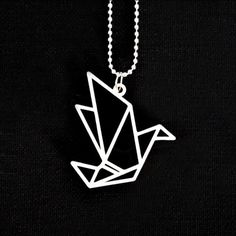 Something we liked from Instagram! Origami #ultimaker #3D #3Dprinter #3Dprinting #necklace #necklaces #ketting #kettinkje #kettinghanger #kettingbedel #jewelry #jewellery #jewelrydesign #sieraad #sieraden #sieraadvandedag #sieraad2015 #sieradenwebshop #sieradenlove #origami #bird #vogel #forsale #tekoop #blackandwhite by feistyfavorites check us out: http://bit.ly/1KyLetq