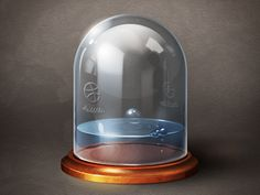 Container & Liquid by xiaoxian- This is a really interesting little icon the detail to the design and they way they have added the right amount of high and low lights to make it seem 3-d. Kind of reminds me of something very steampunk.