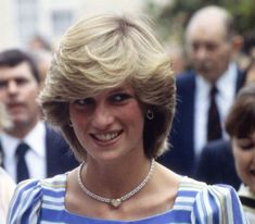 July 06, 1983 Princess Diana visits the Elmhurst Ballet School in Camberley, Surrey