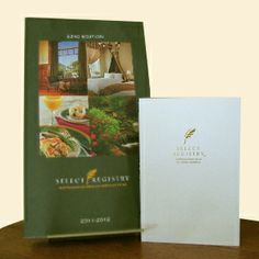 Select Registry Gift Certificate with Complimentary Guidebook #TicketFallGetaway