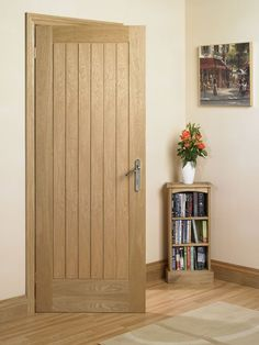 Suffolk Oak Internal Door Just bought 5 of these for our house Replacing Interior Doors, Oak Interior Doors, Oak Doors, Exterior Doors, Cottage Doors Interior, Rustic Living Room Furniture, Door Furniture, House Doors, Internal Doors