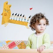 The most gorgeous quirky wall stickers for a child's room, or even a lounge