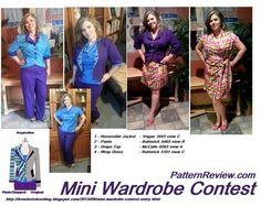Mini wardrobe contest -  PatternReview