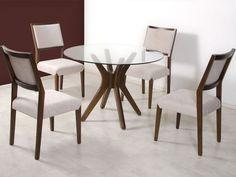 mesa para jantar 4 lugares 6