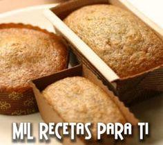 Mil Recetas para Ti: Pan de Banana y Puré de Manzana