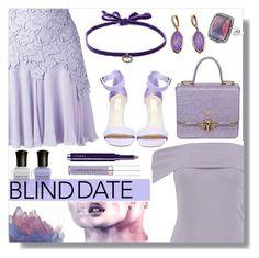 """purple date"" by monykhaled ❤ liked on Polyvore featuring Deborah Lippmann, Steve Madden, VIVETTA, Miu Miu, Giambattista Valli, Boohoo, DANNIJO, Smashbox, Jona and Trussardi"