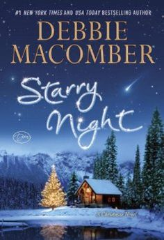 Starry Night by Debbie Macomber.  Columnist Carrie Slayton longs to write more serious news stories. So her editor hands her a challenge: She can cover any topic she wants, but only if she first scores the paper an interview with Finn Dalton, the notoriously reclusive author. Carrie develops a theory on his whereabouts, forsakes her family celebrations and flies out to snowy Alaska. And soon she is torn between pursuing the story of a lifetime and following her heart.