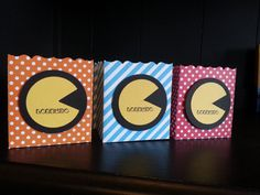 Pac-Man Birthday Party Favors Pac-Man Party by KLundquistDesigns