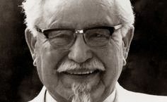 This is Harland David Sanders. Founder of KFC (kentucky fried chicken) He is known as Colonel Sanders. Kfc, Fantasy Character, Brand Character, Character Design, Colonel Sanders, Top Secret Recipes, Interesting Information, Interesting Facts, Amazing Facts