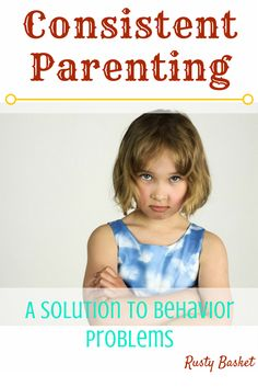 Kids are hard. But with Consistent Parenting they can become easier. Read on to find out how to parent consistently and how doing this helps your children.