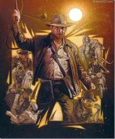 Raider of the Lost Ark 2 - Drew Struzan