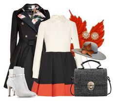 Astra by katrinaqueen1997 on Polyvore featuring polyvore, fashion, style, Ted Baker, Alberta Ferretti, Valentino, Carolee and The Season Hats