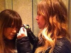 Hilary Duff tweets about new hairstyle