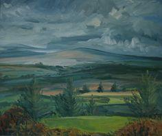 "Irish landscape ""As the Rain Came"", oil on Anastasia O Donoghue Healy,can be viewed at Greenacres Art Gallery Wexford town, Ireland Irish Landscape, Landscape Art, Wexford Town, Anastasia, Art Gallery, Artist, Ireland, Rain, Painting"