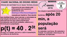 CURSO MATEMÁTICA ENEM 2016 QUESTÃO 161 PROVA ROSA RESOLVIDA EXAME NACION... https://youtu.be/_plDqVVnxT0