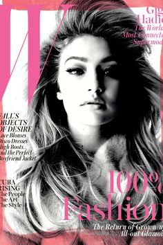 Your Guide To The 2015 September Issues | Gigi Hadid in W Magazine