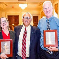 During last month's Alumni Weekend, we honored Barbara D. Krol-Sinclair (SED '82, '96) and Benjamin J. Bahan (GRS '96, SED '87) with the 2015 SED Alumni Awards #bused #TBT #BUAlumni @bualumni