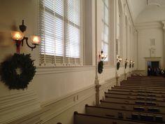 Central Moravian Church Christmas Eve