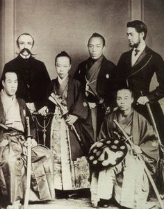 """Tokugawa Akitake in Belgium, 1860s, a Japanese mission to the West that preceded the Iwakura Mission featured in """" Daughters of the Samurai,"""" 2015"""