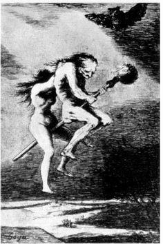 Francisco de Goya Belle maîtresse! planche 68 du cycle Les Caprices 1797-1799 Francfort-sur-le-Main