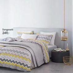 Denne lekre lampen finner du i vår webshop www.no/webshop Sengesett fra