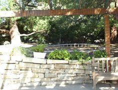 Garden Railings, Garden Railroad, Rail Train, Arch, Sidewalk, Outdoor Structures, Landscape, Model, Longbow