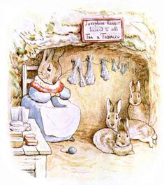 josephine rabbit #knitting