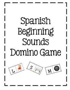 Spanish phonics game