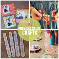 10 DIY Popsicle stick crafts to inspire you. I used to think popsicle stick crafts were for pre-school....until I saw some of these!