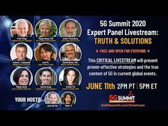 5G Summit 2020: Expert Panel Livestream - YouTube Agent Of Change, Call To Action, Former President, For Everyone, Immune System, Science, Youtube, Interview, Socialism