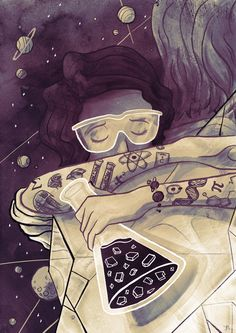 The Women in Science and Engineering Card Game Grant: For your reading pleasure. The Women in Science and Engineering Card Game Grant: For your reading pleasure.,Science This amazing image by Ben Marriot The Women. Biology Art, Science Biology, Science Art, Science Space, Biology Tattoo, Physical Science, Art And Illustration, Chemistry Art, Art Tumblr