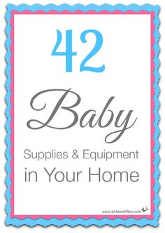 42 Baby Supplies and