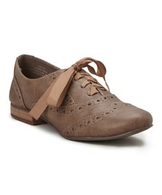 Take a look at this Restricted Taupe Ringo Oxford today!