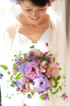 新郎新婦様からのメール 大阪へ3 : 一会 ウエディングの花