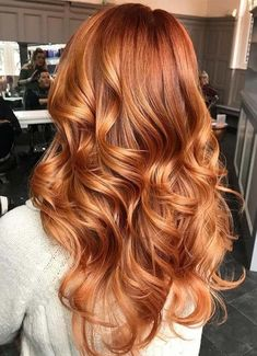 Most popular ginger hair colors for long hair in 2018. We've compiled here best trends of red and ginger hair colors for rocking hair look. This is one of the pleasant, cool and gorgeous hair colors for every woman since last few decades.