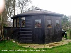 The Rugby Pub, Pub Shed from garden #shedoftheyear @unclewilco
