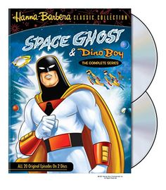 Click Image Above To Purchase: Space Ghost & Dino Boy: The Complete Series Dvd From Warner Bros. Space Ghost, Space Boy, Daws Butler, Retro Hits, Gary Owen, The Centurions, Morning Cartoon, Hanna Barbera, Movies