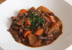 La Fée Stéphanie: Champignons à la bourguignonne, une recette vegan surprenante et délicieuse!