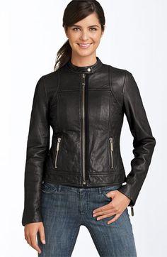 Hooded Faux Leather Jacket - Jr. Burlington coat factory | Fall ...