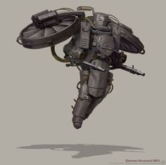 Diesel Punk - German Hoversuit MKII by BjornHurri