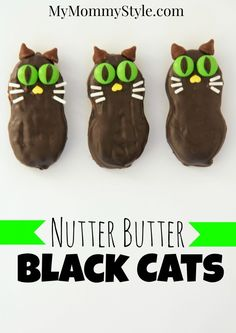 NUTTER BUTTER BLACK CATS