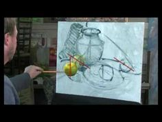 handy for students - starting a still life painting