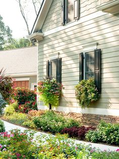 Fix flaws, such as peeling paint or cracked widows to boost your home's appearance. More ways to make a better first impression: http://www.bhg.com/home-improvement/exteriors/curb-appeal/make-a-better-first-impression/?socsrc=bhgpin082413shutters=5